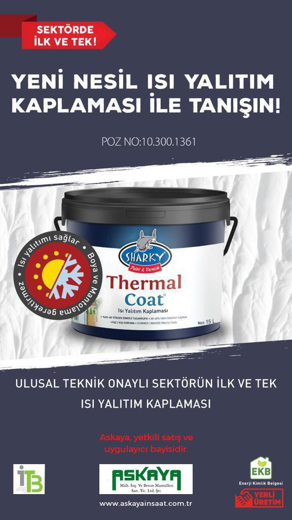 Askaya İnşaat - SHARKY THERMAL COAT